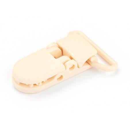 Acheter Pince clip accroche tétine pour bébé - beige - 0,99€ en ligne sur La Petite Epicerie - 100% Loisirs créatifs