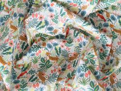 Acheter Tissu coton Rifle Paper - Jungle - 2,15€ en ligne sur La Petite Epicerie - Loisirs créatifs