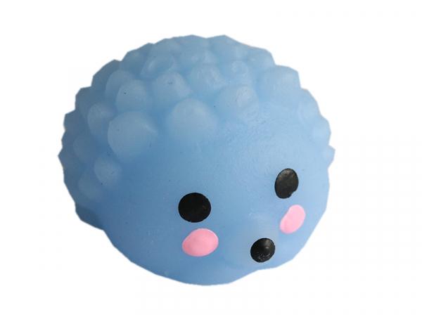 Acheter Mini squishy hérisson bleu - anti stress - 1,99€ en ligne sur La Petite Epicerie - Loisirs créatifs