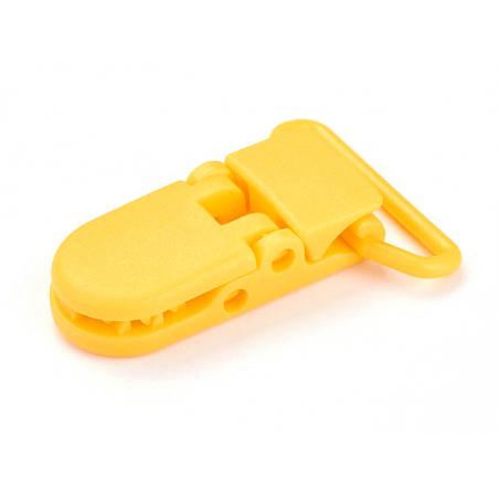 Acheter Pince clip accroche tétine pour bébé - jaune soleil - 0,99€ en ligne sur La Petite Epicerie - 100% Loisirs créatifs