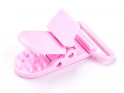 Acheter Pince clip accroche tétine pour bébé - rose pastel - 0,99€ en ligne sur La Petite Epicerie - Loisirs créatifs