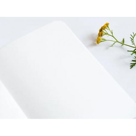 Acheter Carnet A5 à feuilles vierges Albane - Feuilles blanches sur fond rose - 8,49€ en ligne sur La Petite Epicerie - 100%...