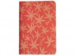 Acheter Carnet A5 à feuilles vierges Titouan - Fleurs sur fond rouge - 8,49€ en ligne sur La Petite Epicerie - 100% Loisirs ...