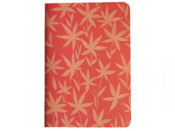 Acheter Carnet A5 à feuilles vierges Titouan - Fleurs sur fond rouge - 8,49€ en ligne sur La Petite Epicerie - Loisirs créatifs
