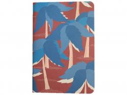 Acheter Carnet A5 à feuilles vierges Paul - Palmiers bleus - 8,49€ en ligne sur La Petite Epicerie - 100% Loisirs créatifs