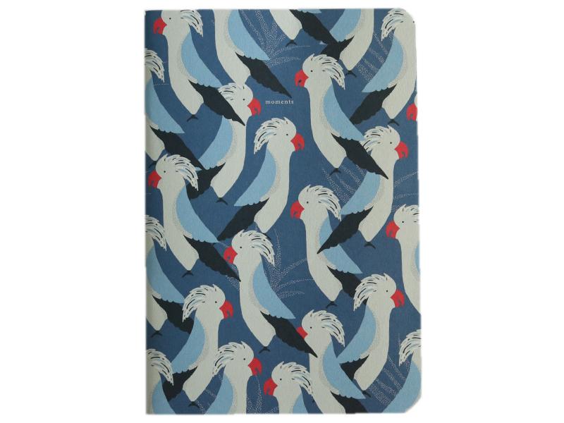 Acheter Carnet A5 à feuilles vierges Romain - Cacatoès bleus - 8,49€ en ligne sur La Petite Epicerie - 100% Loisirs créatifs