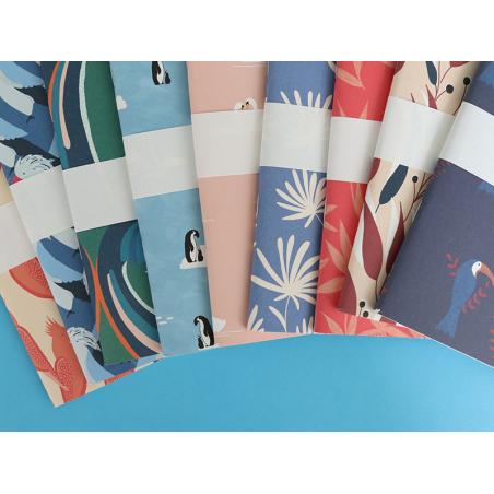 Acheter Carnet A5 à feuilles vierges Anatole - Pingouins - 8,49€ en ligne sur La Petite Epicerie - 100% Loisirs créatifs