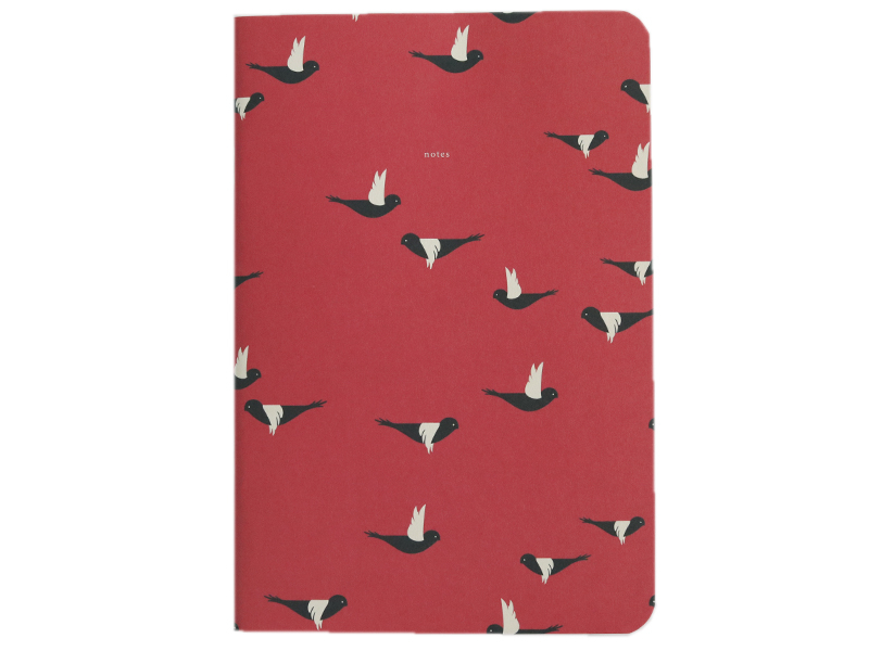 Acheter Carnet A5 ligné Charles - Vol d'oiseaux - 8,49€ en ligne sur La Petite Epicerie - 100% Loisirs créatifs