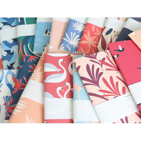 Acheter Carnet A5 à feuilles vierges Charles - Vol d'oiseaux - 8,49€ en ligne sur La Petite Epicerie - Loisirs créatifs
