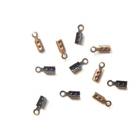 Acheter 10 serre fils - couleur cuivre - 0,79€ en ligne sur La Petite Epicerie - Loisirs créatifs