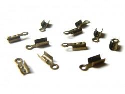 Acheter 10 serre fils - couleur bronze - 0,79€ en ligne sur La Petite Epicerie - Loisirs créatifs
