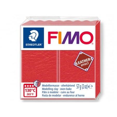 Acheter Pâte Fimo LEATHER EFFECT - Pastèque 249 - 1,99€ en ligne sur La Petite Epicerie - 100% Loisirs créatifs
