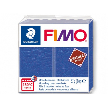 Acheter Pâte Fimo LEATHER EFFECT - Indigo 309 - 1,99€ en ligne sur La Petite Epicerie - 100% Loisirs créatifs