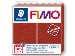 Pâte Fimo LEATHER EFFECT - Rouille 749 Fimo