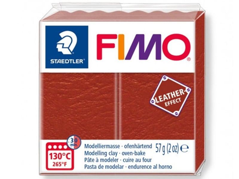 Acheter Pâte Fimo LEATHER EFFECT - Rouille 749 - 1,99€ en ligne sur La Petite Epicerie - 100% Loisirs créatifs