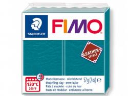 Pâte Fimo LEATHER EFFECT - Lagon 369 Fimo