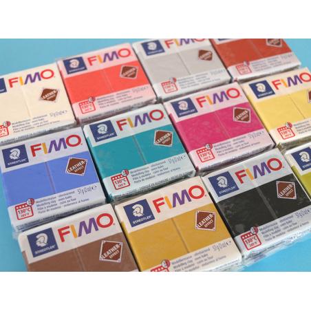 Acheter Pâte Fimo LEATHER EFFECT - Lagon 369 - 1,99€ en ligne sur La Petite Epicerie - 100% Loisirs créatifs