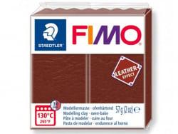 Pâte Fimo LEATHER EFFECT - Noisette 779 Fimo