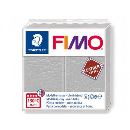 Acheter Pâte Fimo LEATHER EFFECT - Gris Pâle 809 - 1,99€ en ligne sur La Petite Epicerie - 100% Loisirs créatifs