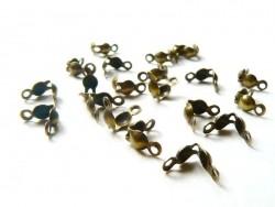 20 cache-noeuds couleur bronze - Taille L