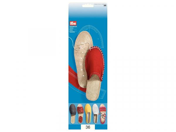 Acheter Semelles d'espadrilles - taille 36 - 9,49€ en ligne sur La Petite Epicerie - Loisirs créatifs