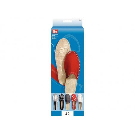 Acheter Semelles d'espadrilles - taille 41 - 9,49€ en ligne sur La Petite Epicerie - 100% Loisirs créatifs