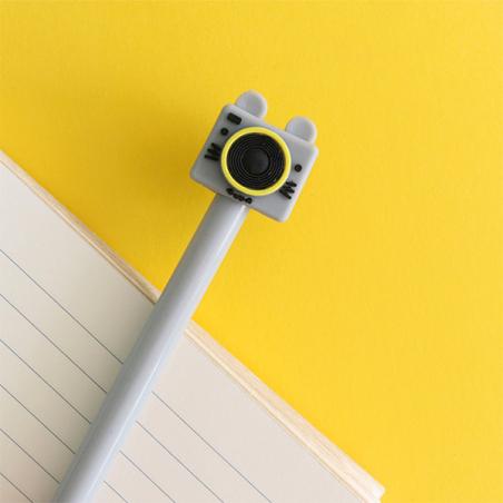 Acheter Le stylo appareil photo souris grise - 4,99€ en ligne sur La Petite Epicerie - 100% Loisirs créatifs