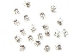 20 cache-noeuds argenté clair - Taille S