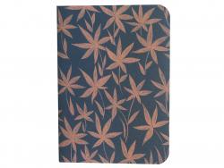 Acheter Carnet A6 à feuilles vierges Ingrid - Feuilles roses sur fond bleu - 4,99€ en ligne sur La Petite Epicerie - 100% Lo...