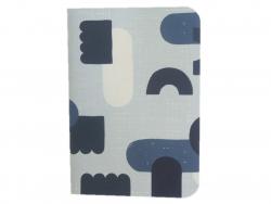 Acheter Carnet A6 à feuilles vierges Hector - Abstrait bleu - 4,99€ en ligne sur La Petite Epicerie - 100% Loisirs créatifs
