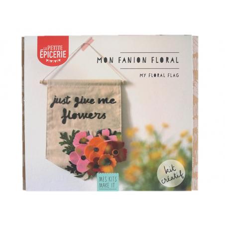 Acheter Kit MKMI - Mon fanion floral - 16,99€ en ligne sur La Petite Epicerie - Loisirs créatifs