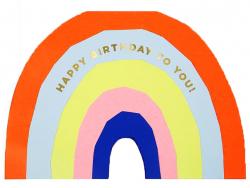 Acheter Carte d'anniversaire – Grand arc-en-ciel - 5,29€ en ligne sur La Petite Epicerie - 100% Loisirs créatifs