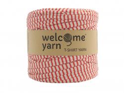 Acheter Grande bobine de fil trapilho - blanc à rayures rouges - 7,90€ en ligne sur La Petite Epicerie - 100% Loisirs créatifs