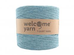 Acheter Grande bobine de fil trapilho - turquoise à chevrons blancs - 7,90€ en ligne sur La Petite Epicerie - 100% Loisirs c...