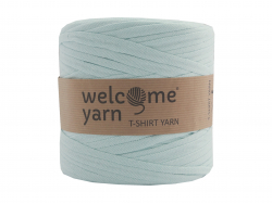 Acheter Grande bobine de fil trapilho - turquoise clair à chevrons blancs - 7,90€ en ligne sur La Petite Epicerie - 100% Loi...