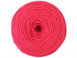 Grande bobine de fil trapilho rose fushia