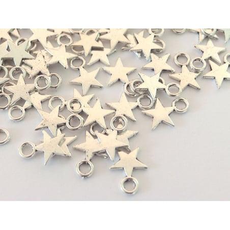 Acheter Breloque étoile argent - 0,39€ en ligne sur La Petite Epicerie - 100% Loisirs créatifs