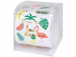Acheter Rouleau de mini stickers – Tropical - 6,99€ en ligne sur La Petite Epicerie - 100% Loisirs créatifs