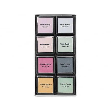 Acheter Kit de 8 encreurs – Smoky mix - 7,69€ en ligne sur La Petite Epicerie - Loisirs créatifs