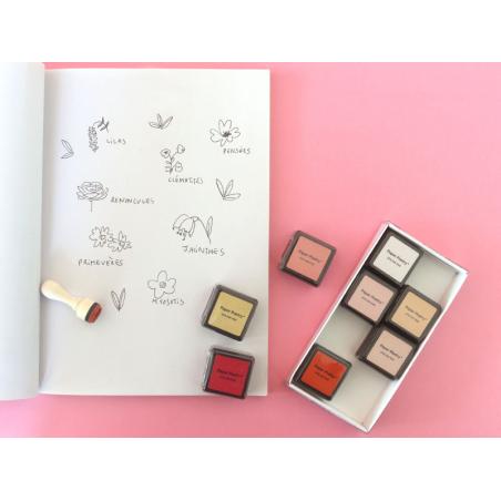 Acheter Kit de 8 encreurs – Valentine - 7,69€ en ligne sur La Petite Epicerie - Loisirs créatifs