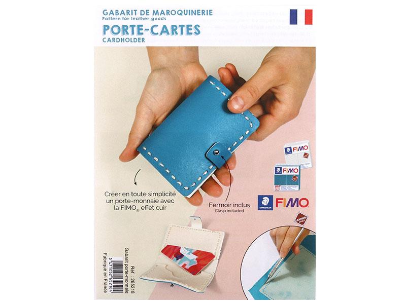 Acheter Gabarit pour Fimo LEATHER EFFECT - Porte-cartes - 3,99€ en ligne sur La Petite Epicerie - 100% Loisirs créatifs