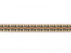 Acheter 1m ruban tissé motif indien beige - 10 mm - 1,79€ en ligne sur La Petite Epicerie - 100% Loisirs créatifs