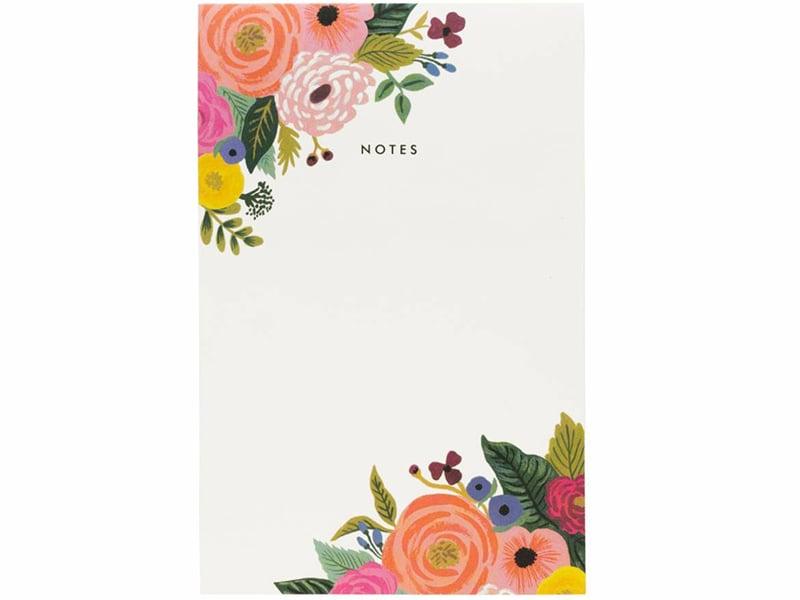 Acheter Bloc-note Rifle Paper - Juliet Roses - 8,99€ en ligne sur La Petite Epicerie - Loisirs créatifs