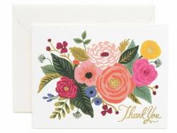 Acheter Carte de remerciements - Bouquet de fleurs - 4,99€ en ligne sur La Petite Epicerie - 100% Loisirs créatifs