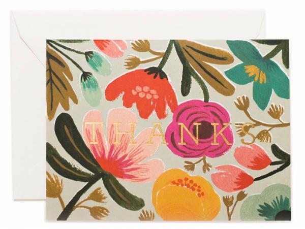 Acheter Carte de remerciements - Fleurs des champs - 4,99€ en ligne sur La Petite Epicerie - 100% Loisirs créatifs