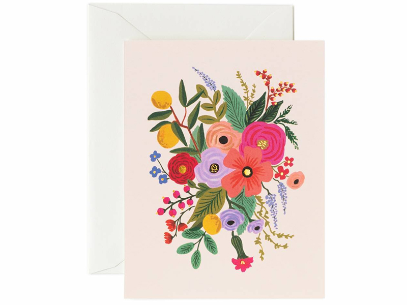 Acheter Carte - Garden Party Blush - 4,99€ en ligne sur La Petite Epicerie - 100% Loisirs créatifs