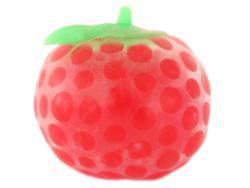 Squishy fraise avec billes...