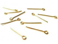 Acheter 10 clous à oeil doré - 20 mm - 1,09€ en ligne sur La Petite Epicerie - Loisirs créatifs