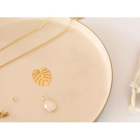 Acheter Collier Madame Patachou blanc - Kit bijoux précieux dorés à l'or fin - 14,89€ en ligne sur La Petite Epicerie - Lois...