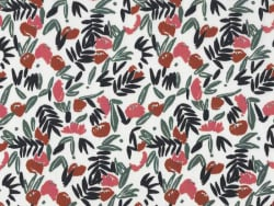 Acheter Tissu viscose Cousette Jungle de fleurs - Blush - 1,99€ en ligne sur La Petite Epicerie - Loisirs créatifs
